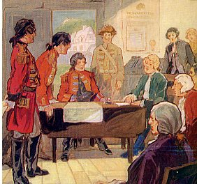 1763 – 1786: Governors of the Province of Quebec – England
