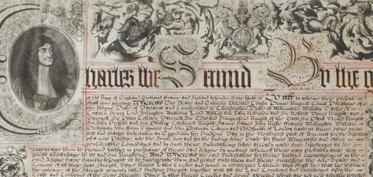 1670: Hudson's Bay Company Chartered