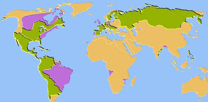 1760 – 1763: Treaty of Paris aka Treaty of Peace and Friendship